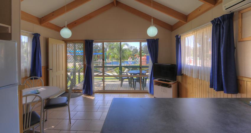 BIG4 Moruya Bungalow Living Room Area