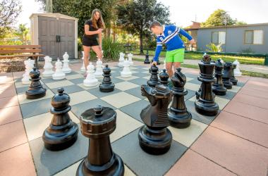 Image of Outdoor Chess