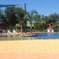 A great photo of our swimming pool from a recent guest