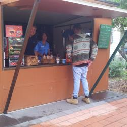 Everyone loves the good coffee at BIG4 Moruya Heads Easts Dolphin Beach Holiday Park