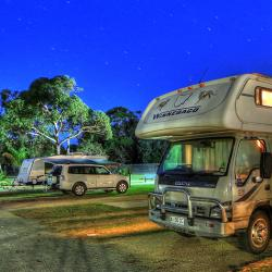 Powered Sites at BIG4 Moruya are very popular our grey nomad friends