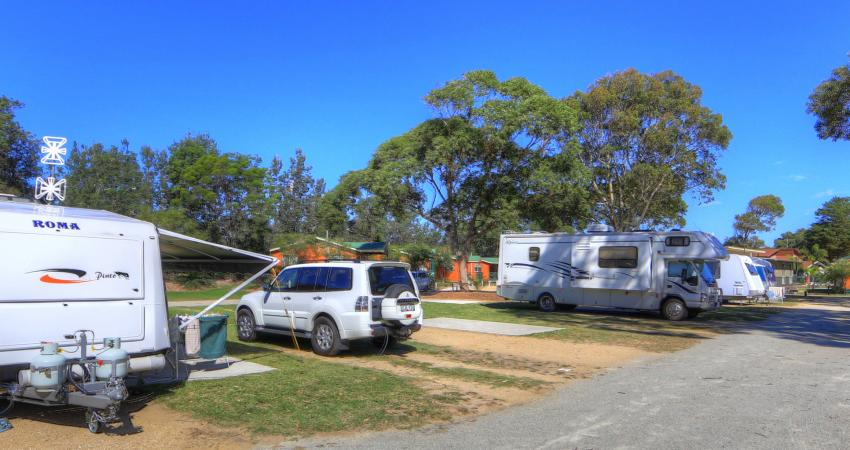 BIG4 Moruya Easts Powered Van Sites