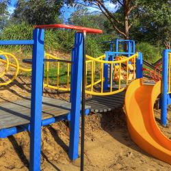 Lots of fun to be had in the Playground at BIG4 Moruya Heads