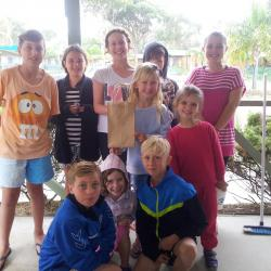 BIG4 Moruya has fun activities during holiday periods including a Scavenger Hunt