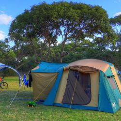 Get  back to basics on a an unpowered tent site at BIG4 Moruya